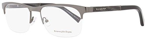 Ermenegildo Zegna Men's Designer Eyewear, Shiny Gumetal, for sale  Delivered anywhere in USA
