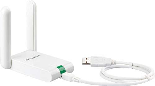 TP-Link USB Wifi Dongle 300Mbps High Gain Wireless Network Adapter for PC Desktop and Laptops.