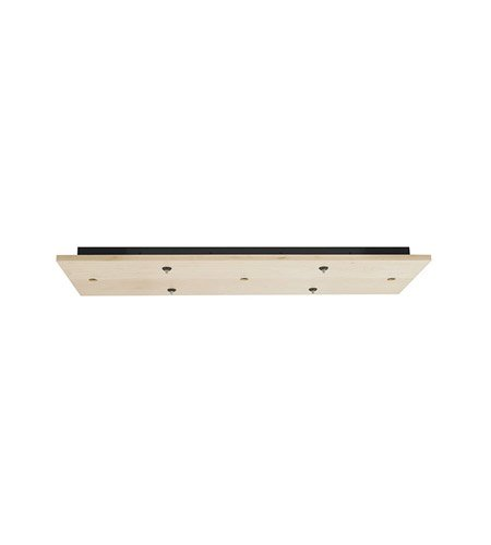 LBL CK007RD-FJ-MABZ-LED Fusion Jack LED 7 Light Wood Round Canopy