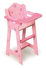 Best Quality Blossoms & Butterflies Doll High Chair By