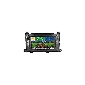 Toyota Sienna 2011 2012 2013 2014 GPS Navigation Radio System, 8 Inch Touchscreen Car Stereo