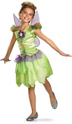 Peter Pan Movie Costumes (Tinker Bell Rainbow Classic Child Costume - Small)