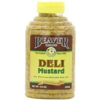 Beaver Brand Deli Mustard, 12.5-Ounce Squeezable Bottles (Pack of 6) Thank you for using our service