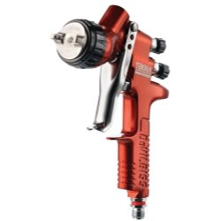 ITW Devilbiss (DEV703661) Tekna Copper Gravity Feed Spray Gun with 1.3 and 1.4 Needle