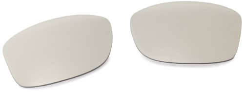 Oakley Mens Jupiter Squared Replacement Lens,Chrome Iridium,One Size
