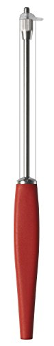 OSTI Original cheese slicer in stainless steel with red handle