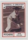 (Bob Feller (Baseball Card) 1982 TCMA Baseball's Greatest - Pitchers - Tan Back #1982-1)