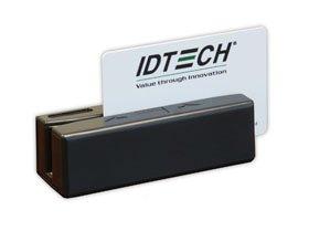 - ID Technologies IDRE-334133BE SecureMag Magnetic Stripe Reader, USB-Keyboard, Enhanced Format, Black