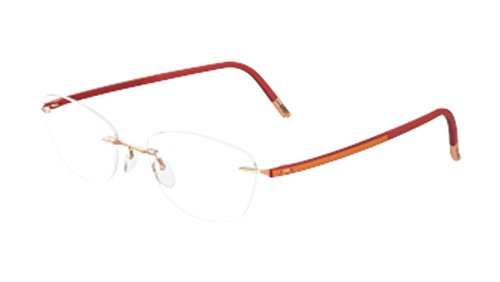 Eyeglasses Silhouette Fusion (5479) 4523 6055 rose 53/17/135 3 piece frame - Silhouette Rimless Eyeglasses