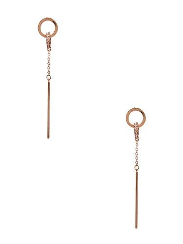Guess Designer Earrings - GUESS Women's Esme Gold-Tone Linear Earrings