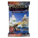 WizKids Pirates of the Cursed Sea Fire & Steel Booster ()