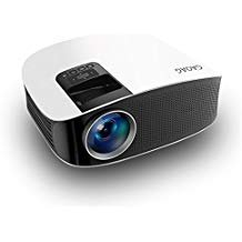 Portable Mini Video Projector+20% Lumens, Multimedia LCD Home Theater Projector HDMI Cable,...