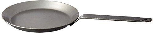 Matfer Bourgeat 062032 Round Crepe Pan, 7 7/8-Inch, Gray