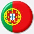 MadAboutFlags Button//Badge Drapeau Portugal