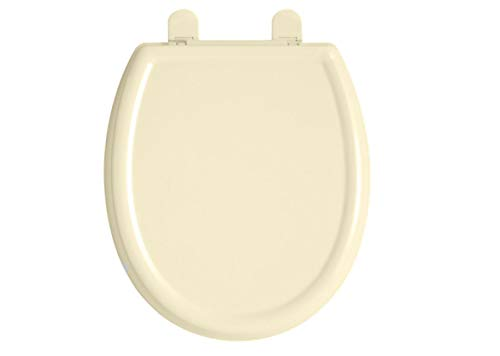 American Standard 5350.110.222 Cadet-3 Elongated Slow Close Toilet Seat with EverClean Surface, Linen