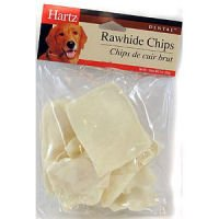Hartz Rawhide Chips - Hartz 83297 3 Oz Dental™ Rawhide Chips