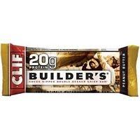 Cliff Bar Builder Bar, Peanut Butter, 2.40-Ounce (Pack of 12) (Value Bulk Multi-Pack)