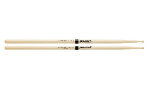 Promark MJZ11 American Maple Jazz Caf Wood Tip, Single Pair
