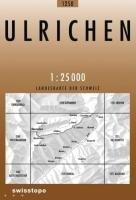 Swisstopo 1   25 000 Ulrichen  Landeskarte Der Schweiz