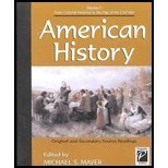 Perspectives on History - American History Volume I (paperback edition)