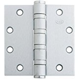Ives 5BB1HW 5 X 4.5 652 626/US26D Hinges, Satin Chrome Finish, Steel by IVES