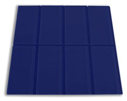 Cobalt Glass Subway Tile 3
