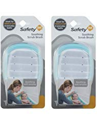 Safety 1?? Soothing Cradle Cap Soft Bristle Brush, Arctic (Pack of 2)