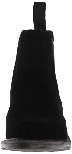 Velvet Boots Flora DrMartens Femme Black Noir WE29YDHI