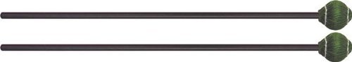 Mike Balter 22BB Pro Vibe Series Medium Hard Green Vibraphone Mallets with Black Birch Handles Balter Pro Vibe Series