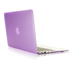 """Smart Tech ® AIR 13-inch Rubberized Hard Matte Case Cover for Apple MacBook Air 13.3"""" (Models: A1369 and A1466) (light purple)"""