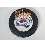 Signed Tanguay, Alex (Colorado Avalanche) Colorado Avalanch Hockey Puck autographed