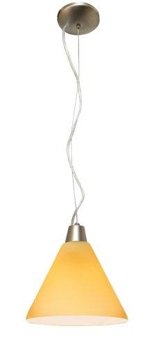 Access Lighting 28004-BS/AMB Inari Silk Mini Pendant Light