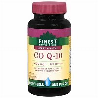 Finest Nutrition CO Q-10 400mg, Softgels, 30 ea - 2pc by Finest Nutrition