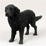 Conversation Concepts Flat-Coated Retriever Original Dog Figurine (4in-5in)