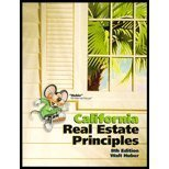 California Real Estate Principles, Huber, Walter Roy, 0916772047