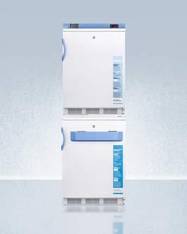(Accucold FF7L-VT65MLSTACKMED2 9.0 cu. ft. Combination Stacked Refrigerator & VT65MLBIMED2 Freezer)