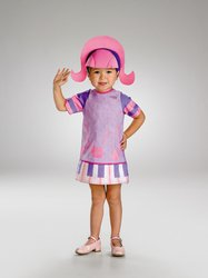 Size 3T-4T Doodlebops Deedee Costume: Toddlers