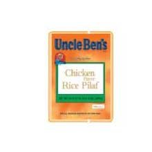 Rice Uncle Bens Chicken Flavor Pilaf 12 Case 24.6 Ounce