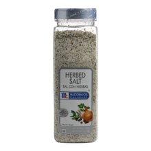 McCormick Herbed Salt - 25 oz. container, 6 per case