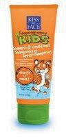 Face Kids Shampoo (Kiss My Face Kids Shampoo & Conditioner 8oz Tube Orange-U-Smart (2 Pack))