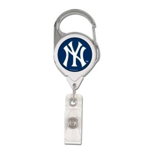 k Yankees Retractable Premium Badge Holder, Team Color, One Size ()