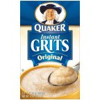 Quaker Instant Grits Original Flavor 12 OZ (Pack of 24)