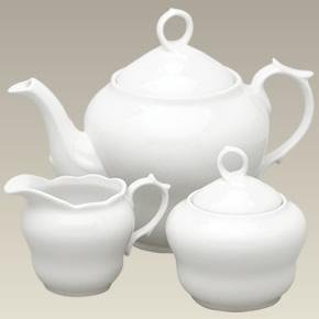 3 Piece Limoges Shape Tea Set