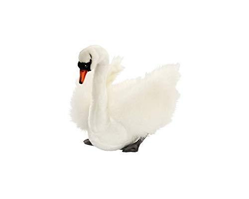 Hansa Swan Plush, White ()