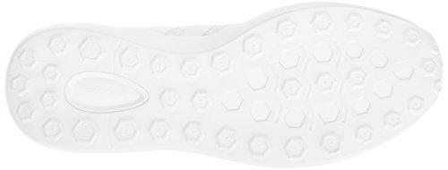 adidas Männer Cloudfoam Race Laufschuh Weiß / Weiß / Hell Onix
