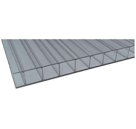 Placa/Panel de Policarbonato Alveolar Traslúcido, 8 mm de grosor ...