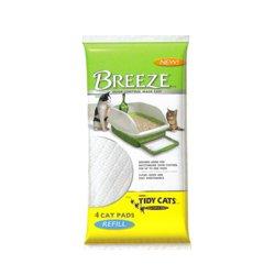 Tidy Cat BREEZE Cat Refill Pads – (4 packs – 4ct), My Pet Supplies