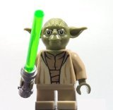 LEGO Yoda Star Wars minifigure - Yoda Chronicles Clone Wars (Jedi Mini Figure)