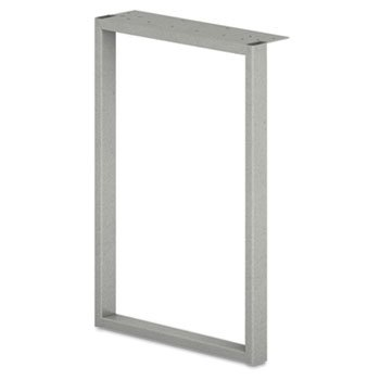 Voi O-Leg Supports for Overhead Cabinet, 14-1/8d x 20-1/2h, Platinum Metallic