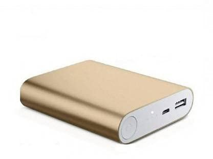 Lenvepo Charging 10400mAh Power Bank  Gold, Lithium ion,Charging 10400 mAh Fast Charging